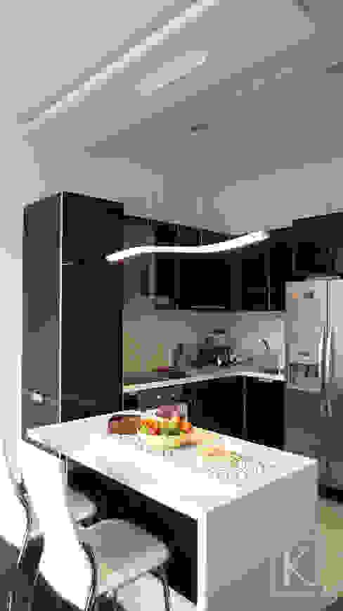 REMODELACIÓN LOFT - COCINA Cocinas de estilo minimalista de ARTEKTURE S.A.S Minimalista