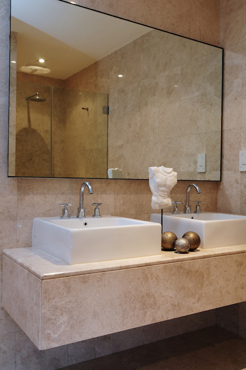 Eklektyczna łazienka od Design Spirits Eklektyczny