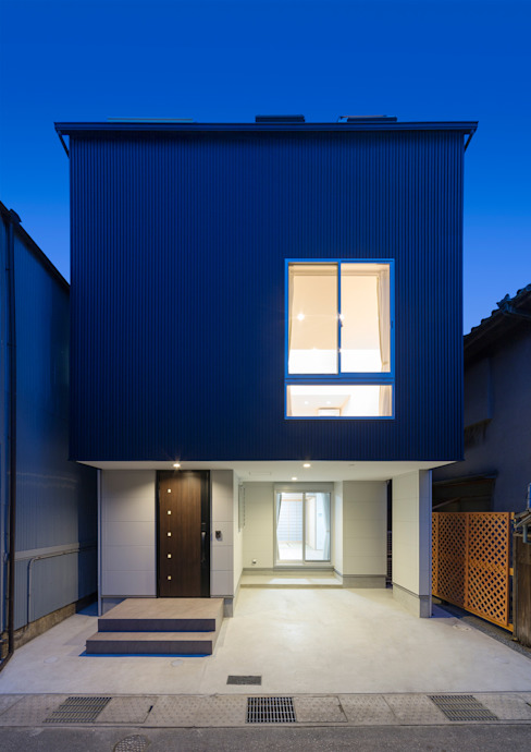 Casas modernas de 中村建築研究室 エヌラボ(n-lab) Moderno