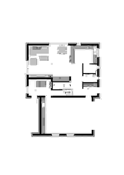 Стены и пол в стиле модерн от MFA Studio Sp z o.o. Модерн
