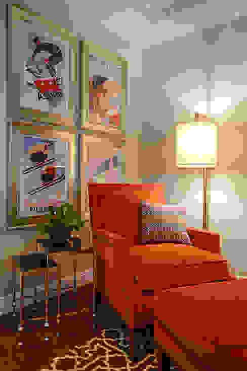 غرفة المعيشة تنفيذ Mel McDaniel Design