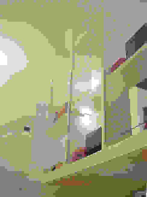 Libreria di vetro PAZdesign Studio moderno Bianco