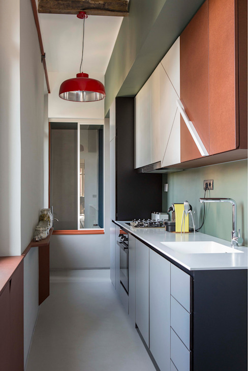 SCEG ARCHITECTS Modern Kitchen