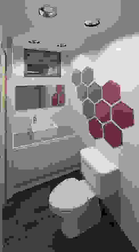 Bathroom by COLECTIVO CREATIVO,