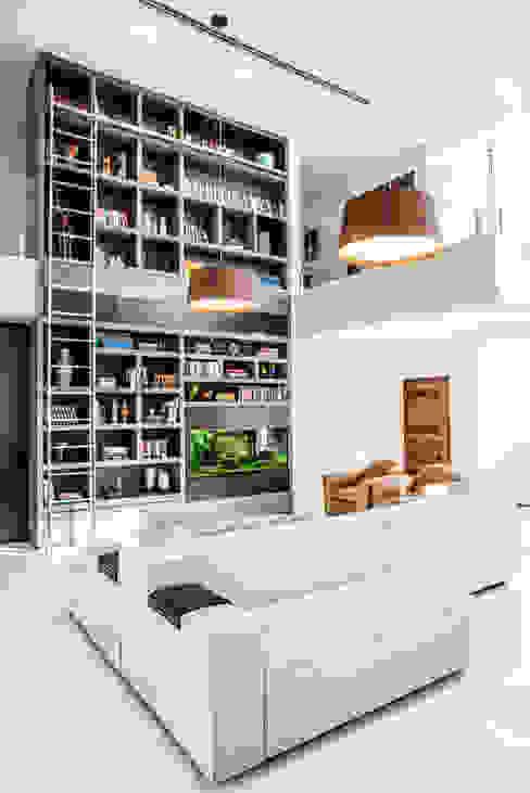 Salas de estilo  por Camila Castilho - Arquitetura e Interiores, Moderno