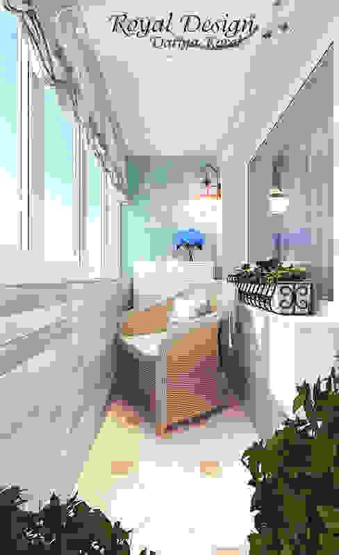 Балкон в стиле Прованс: Tерраса в . Автор – Your royal design,