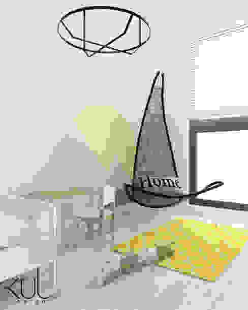 Dom II | Lębork Skandynawski pokój dziecięcy od Kul design Skandynawski