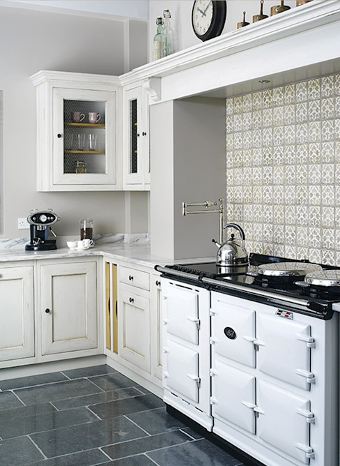 Grange México Built-in kitchens Solid Wood White