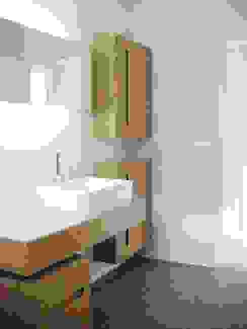 Appartement Neuilly sur Seine Salle de bain minimaliste par 111 architecture Minimaliste