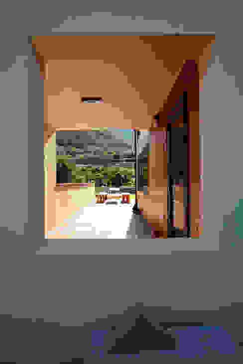 주택설계전문 디자인그룹 홈스타일토토 Balcone, Veranda & Terrazza in stile moderno