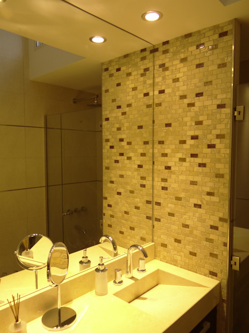 Baños minimalistas de D'ODORICO arquitectura Minimalista