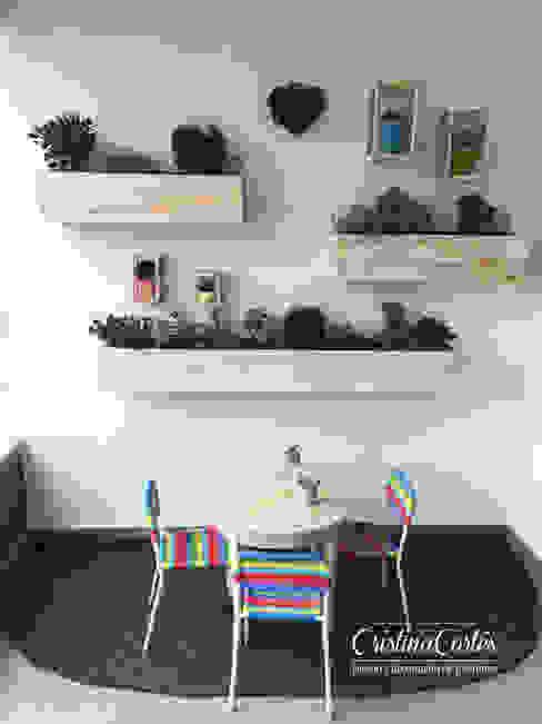 Terraza lado B de Cristina Cortés Diseño y Decoración Moderno