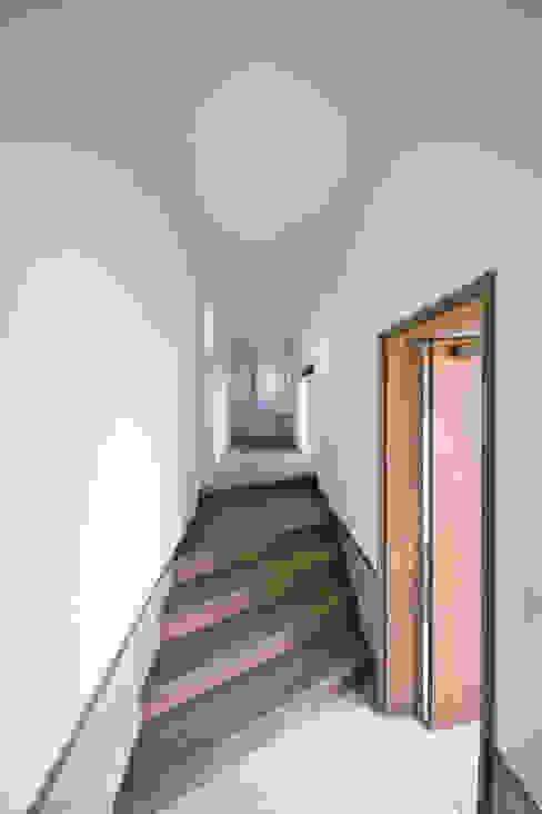 エントランスホール01 モダンスタイルの 玄関&廊下&階段 の 加藤淳一級建築士事務所 モダン