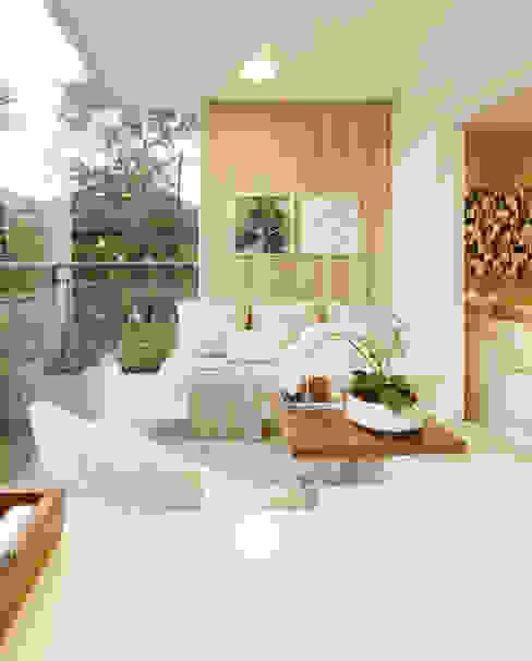 Балкон и терраса в стиле модерн от homify Модерн