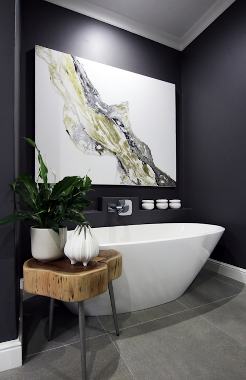 Bathroom 2:  Bathroom by JSD Interiors, Eclectic
