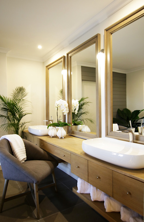 Bathroom 4:  Bathroom by JSD Interiors, Eclectic Wood Wood effect