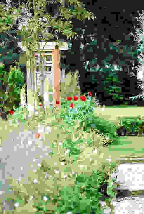 Josselyn's Classic style garden by Aralia Classic Wood Wood effect