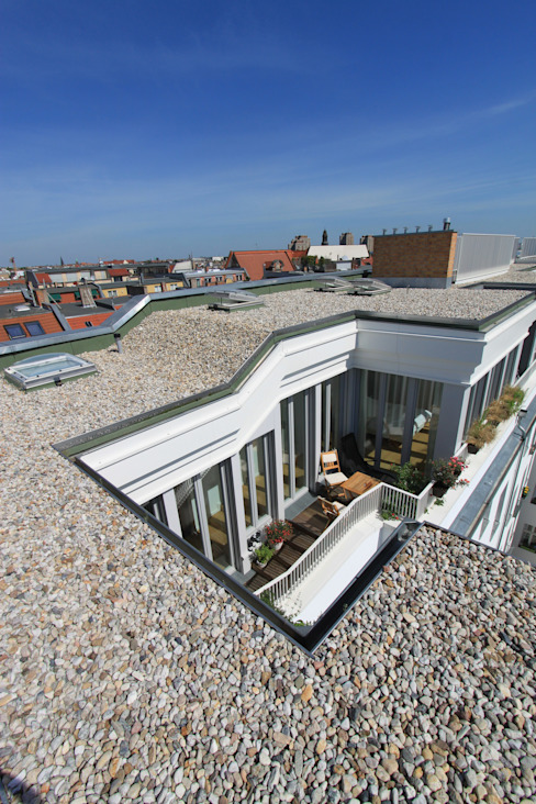 Casas de estilo  por brandt+simon architekten, Moderno