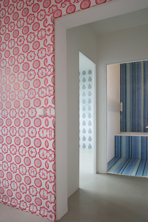 patterns brandt+simon architekten Modern walls & floors Multicolored