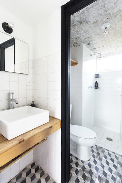 Modern Bathroom by DOSA STUDIO Modern Ceramic