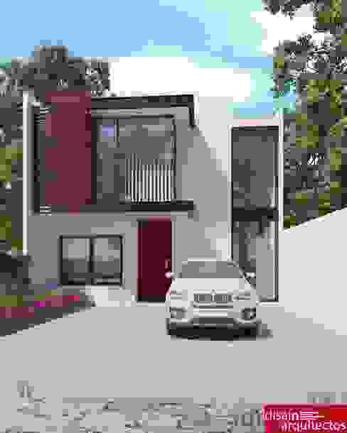 Casa MRB Casas modernas de homify Moderno Hierro/Acero