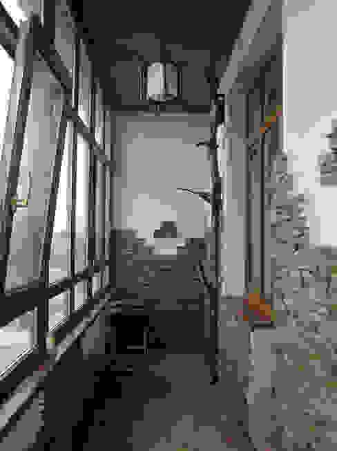 Квартира 180 м2 на Соколе Балкон и терраса в стиле модерн от Надежда Лашку Модерн
