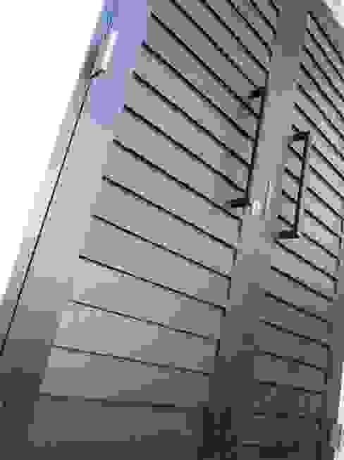 Shiplap Double Doors Modern windows & doors by Window + Door Store Cape Modern