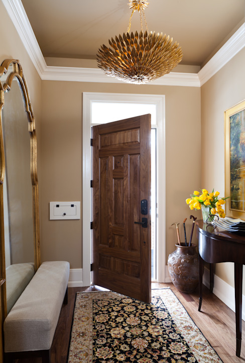 Andrea Schumacher Interiors Classic style corridor, hallway and stairs