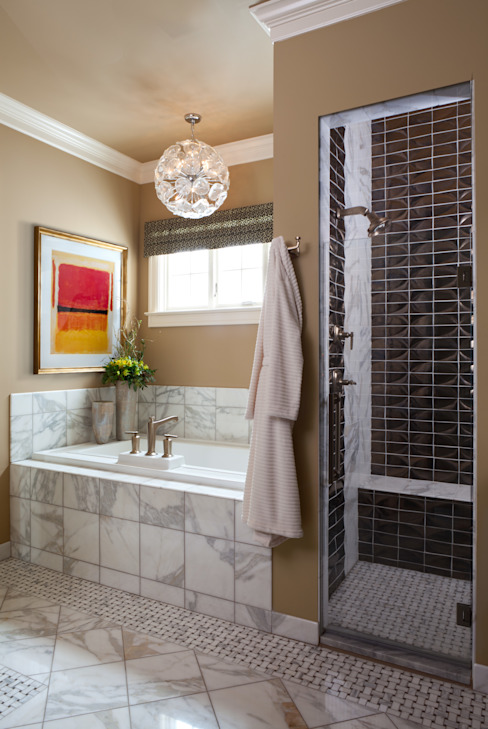 Supremely Sophisticated Andrea Schumacher Interiors Classic style bathroom