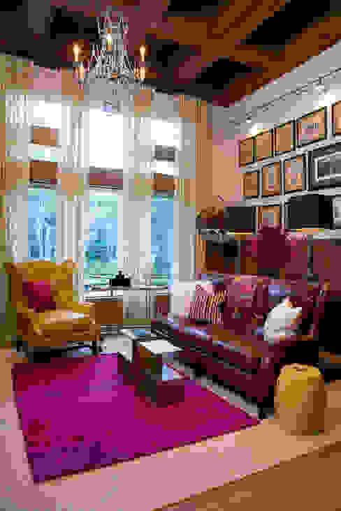 Andrea Schumacher Interiors Classic style study/office