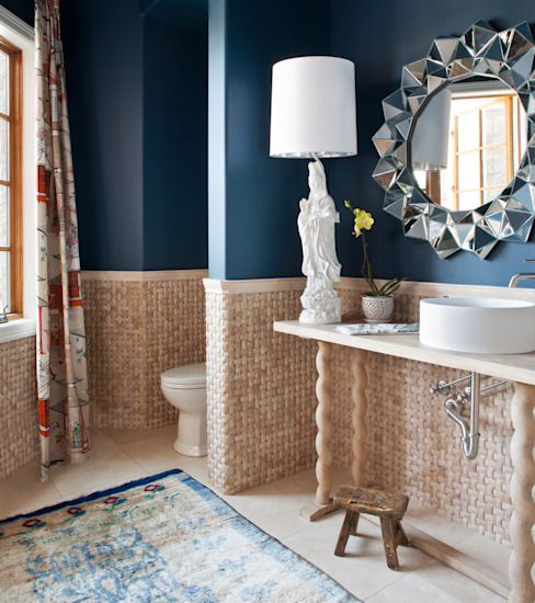 Buell Mansion Remix Classic style bathroom by Andrea Schumacher Interiors Classic