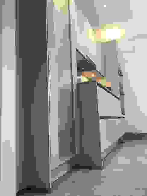 Nobilia Project 13 Laser 20mm matt laminate flat door in a mineral grey Moderne keukens van Eco German Kitchens Modern MDF