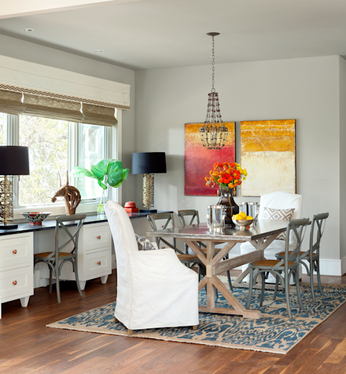 Dining room by Andrea Schumacher Interiors