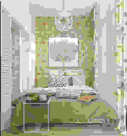 Ausgefallene Schlafzimmer von Студия дизайна Дарьи Одарюк Ausgefallen