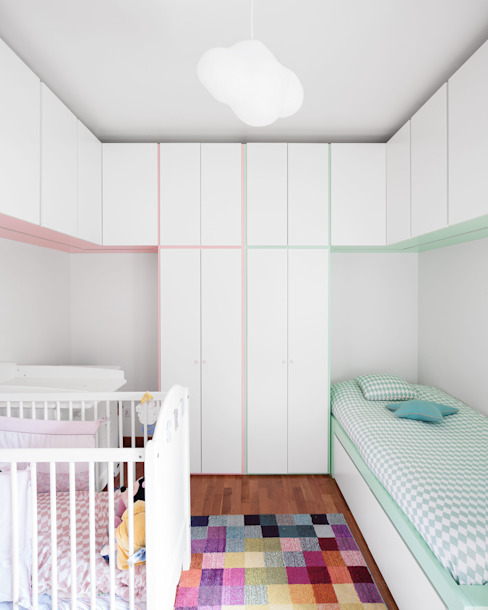 Nursery/kid's room by Estúdio AMATAM
