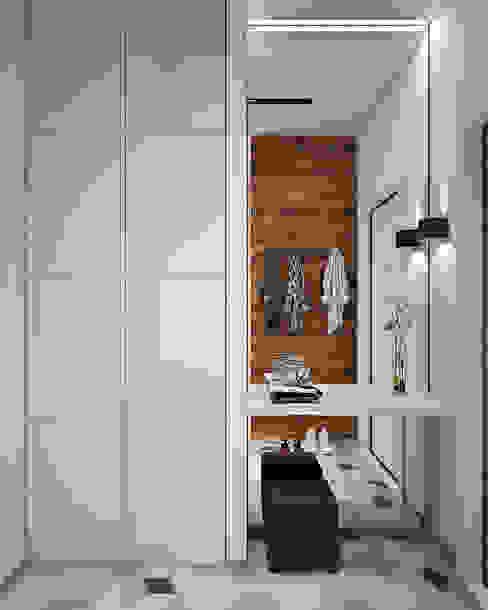 Scandinavian style corridor, hallway& stairs by GM-interior Scandinavian