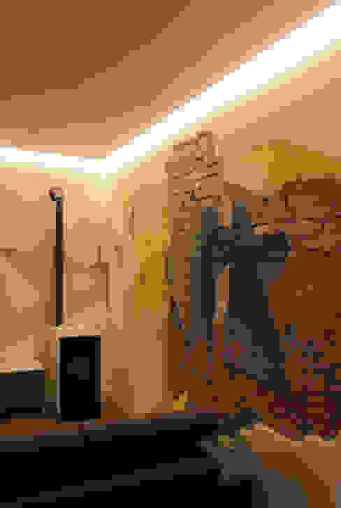 Salas de estilo ecléctico de Architettura & Interior Design 'Officina Archetipo' Ecléctico