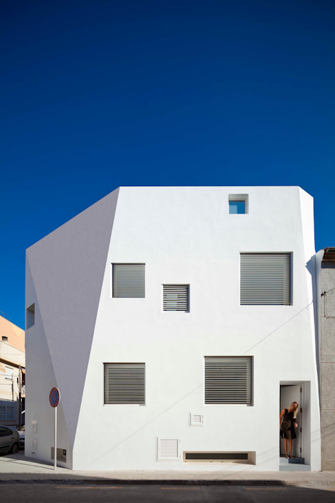 Casas de estilo minimalista de RM arquitectura Minimalista