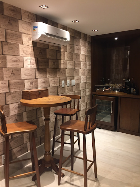 Wijnkelder door GEA Arquitetura, Eclectisch