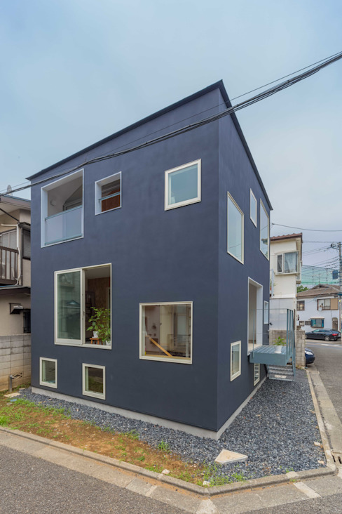 Houses by 水石浩太建築設計室/ MIZUISHI Architect Atelier