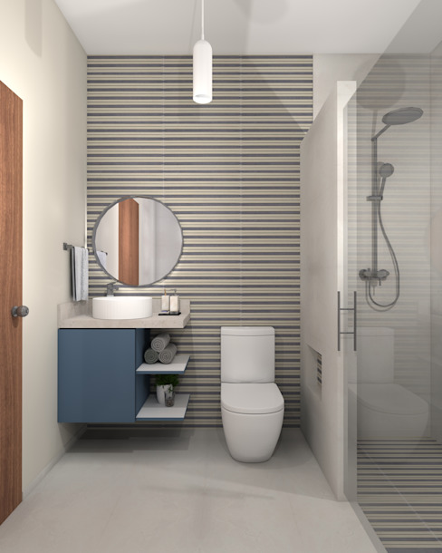 Bathroom by Constructora e Inmobiliaria Catarsis