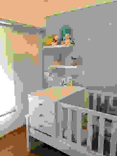 NB INTERIORES Dormitorios infantiles minimalistas Tablero DM Azul