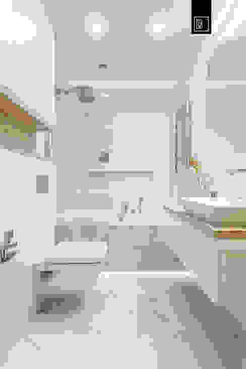 KODO projekty i realizacje wnętrz Ванная комната в стиле модерн