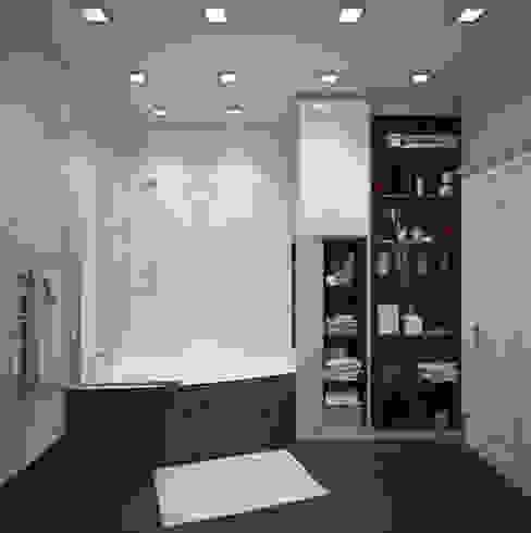 Classic style bathroom by СТУДИЯ 'ДА' ДАРЬИ АРХИПОВОЙ Classic Glass