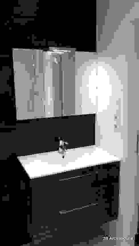 Aménagement de 10 logements Salle de bain moderne par 3B Architecture Moderne Céramique