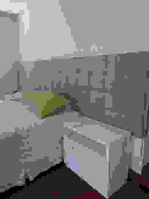 Casa SN Lozí - Projeto e Obra Quartos modernos