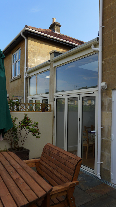 Side return extensions Modern Conservatory by Style Within Modern Aluminium/Zinc