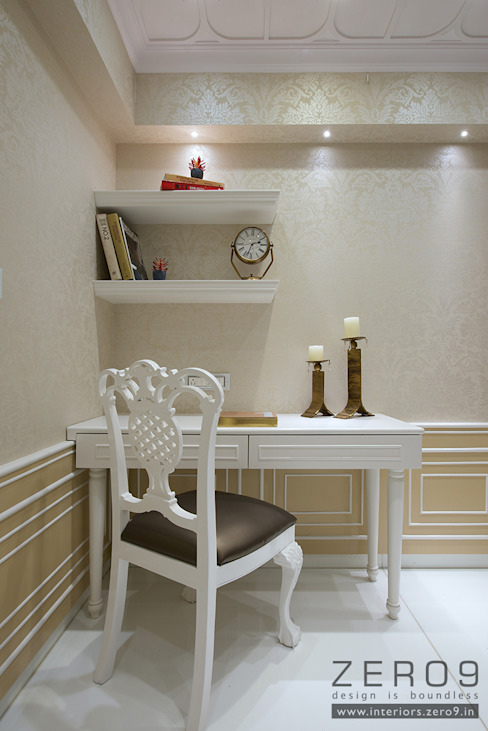 home Asian style study/office by ZERO9 Asian