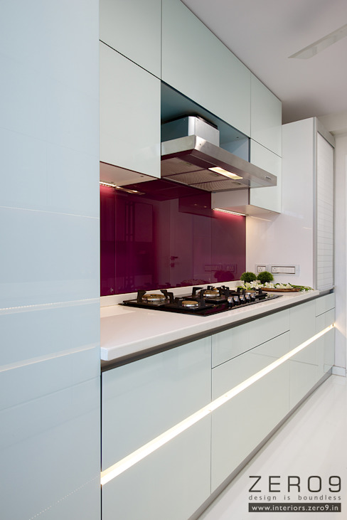 home Asian style kitchen by ZERO9 Asian