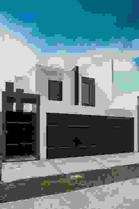 Casas de estilo  por ROKA Arquitectos , Minimalista Aglomerado